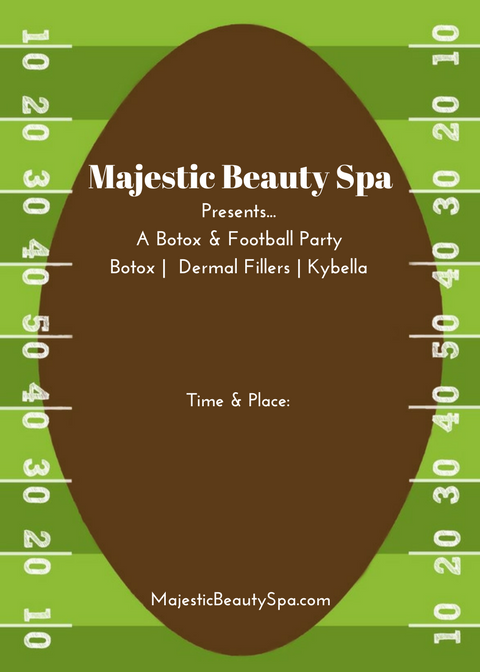 Majestic Beauty Spa - 5 x 7 - Invite 3