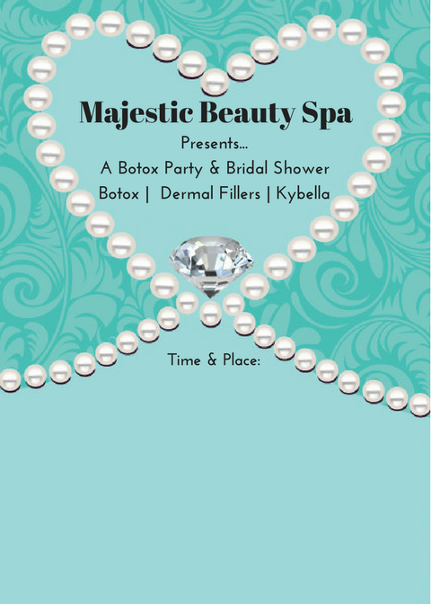 Majestic Beauty Spa - 5 x 7 - Invite 5