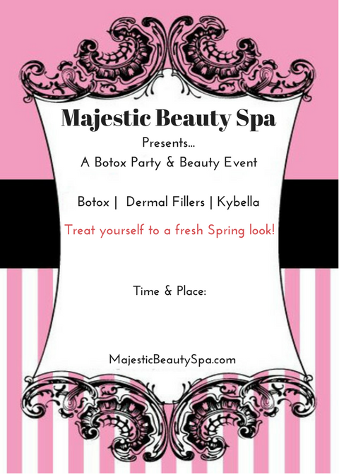 Majestic Beauty Spa - 5 x 7 - Invite 6