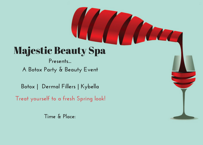 Majestic Beauty Spa - 5 x 7 - Invite 8