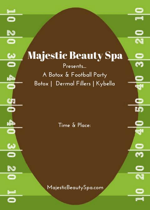 Majestic Beauty Spa - 5 x 7 - Invite 3