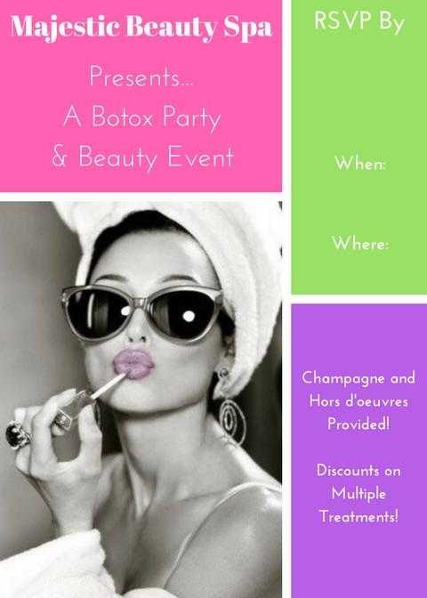 Majestic Beauty Spa - 5 x 7 - Invite 4