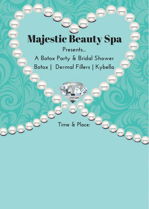 Majestic Beauty Spa - 5 x 7 - Invite 5