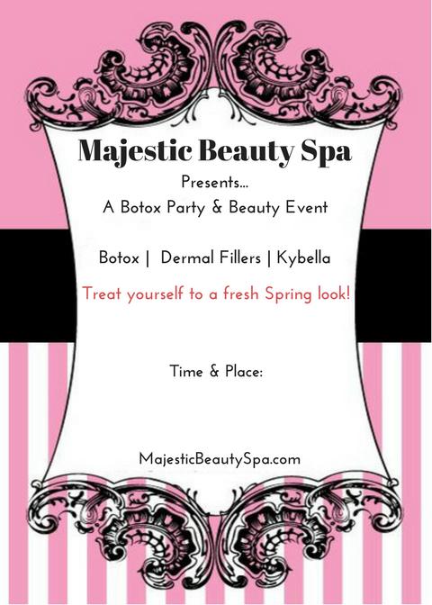 Majestic Beauty Spa - 5 x 7 - Invite 6
