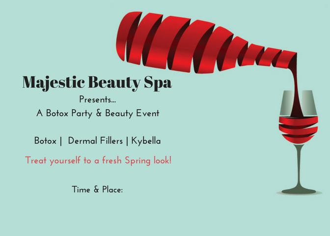 Majestic Beauty Spa - 5 x 7 - Invite 8