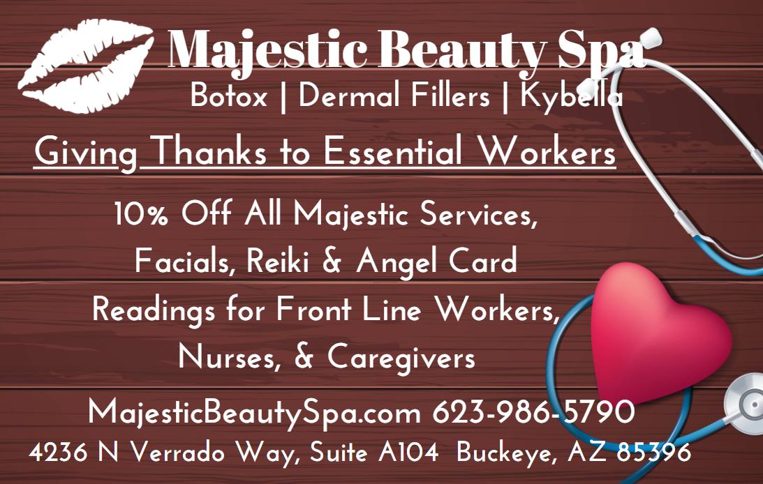Majestic Beauty Spa April Specials 2021