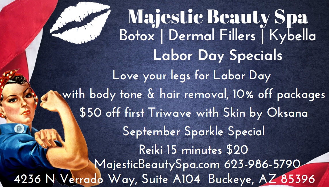 Majestic Beauty Spa September Specials